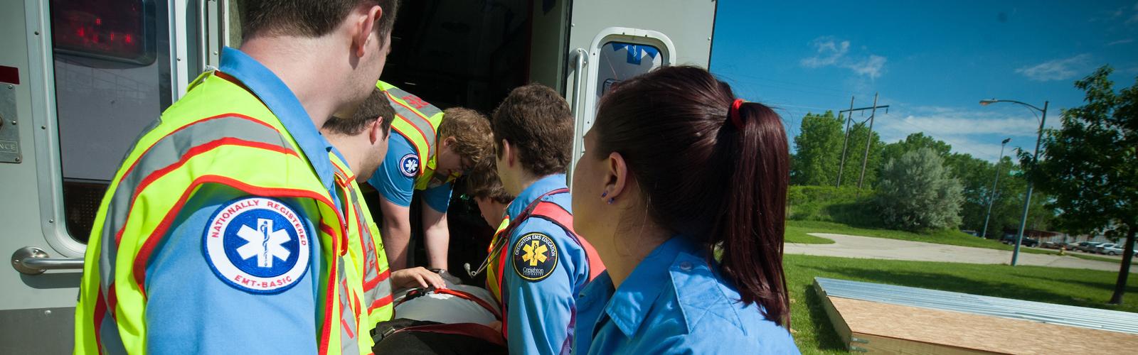 EMT course at Creighton