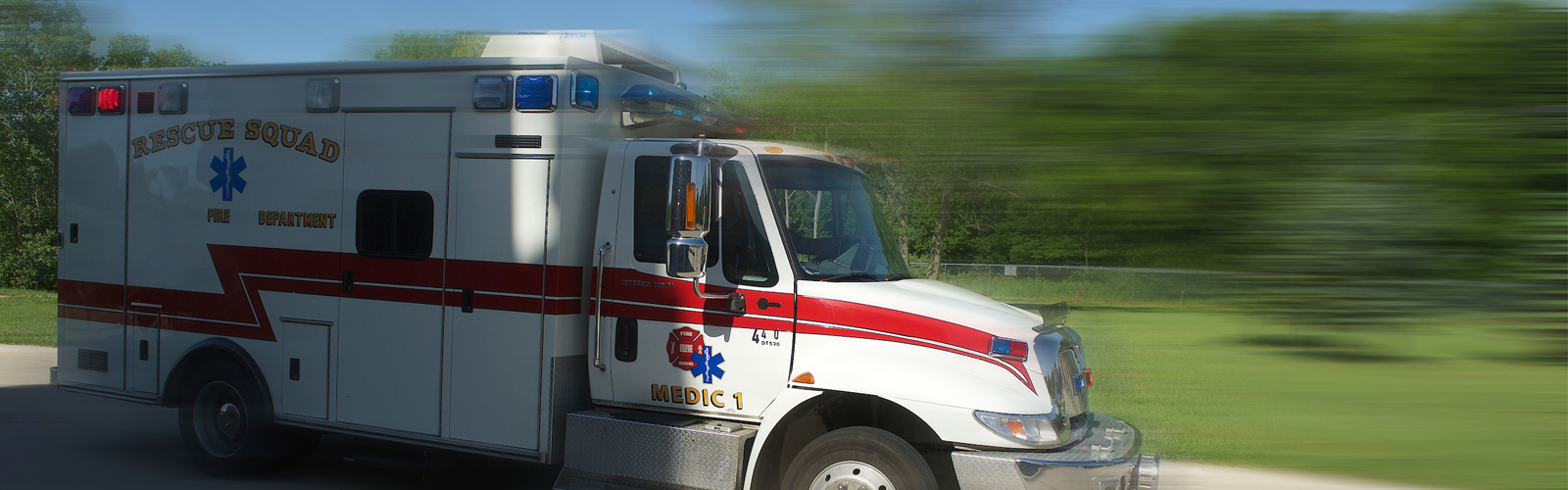 First responder ambulance