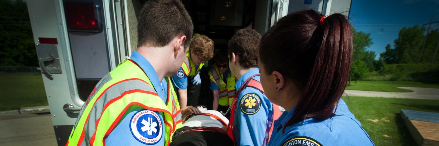 earn your degree from creighton EMS